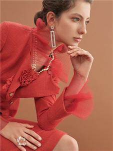 2019HON.B紅貝緹紅色禮服