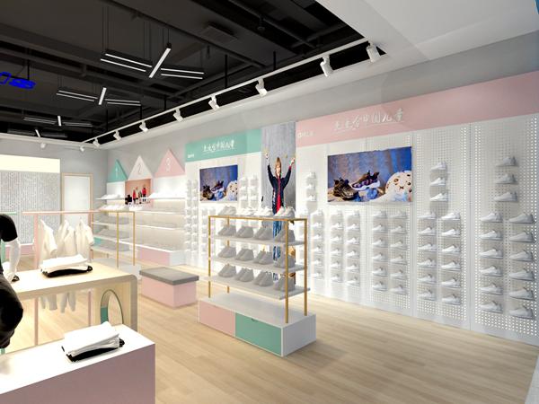 红蜻蜓童鞋店铺展示