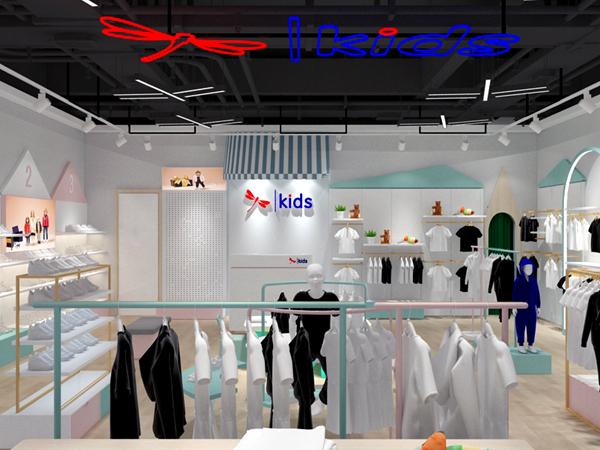 红蜻蜓儿童品牌实体店品牌旗舰店店面