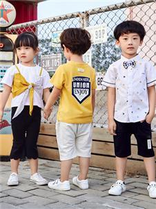 嗒嘀嗒童装新款夏季套装