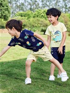嗒嘀嗒童装新款时尚T恤