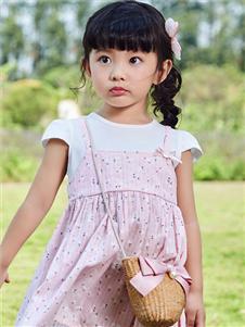 嗒嘀嗒童装夏季新款小童连衣裙