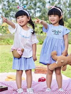 嗒嘀嗒童装夏季新款小童装