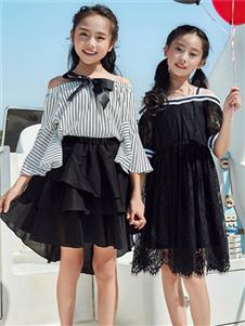 嗒嘀嗒童装夏季新款连衣裙