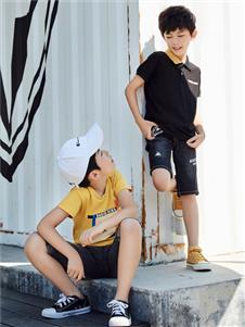 嗒嘀嗒童装夏季新款印花T恤