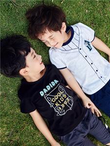 嗒嘀嗒童装夏季新款男童T恤