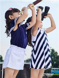 嗒嘀嗒童装夏季新款女童T恤