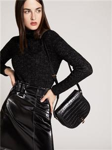 2019芮玛女装黑色气质套装裙