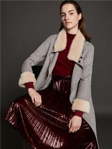 2019芮玛女装气质大衣
