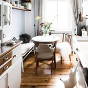 新申亚麻大师   亚麻用品,享受厨房里的自然美。