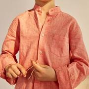 新申亚麻大师   舒适亚麻衫,让潮男孩儿飞扬!