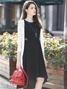 欧伊芮诗黑色连衣裙