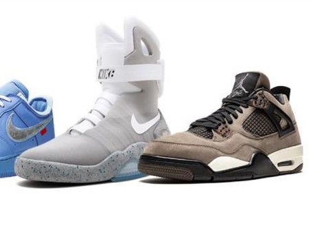珍品运动鞋拍卖会 一双1972年的Nike鞋估价16万美元