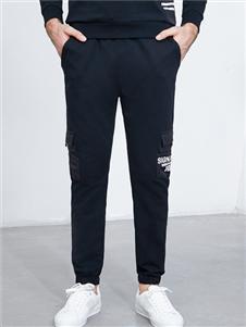 比森战狼秋冬新款时尚男裤