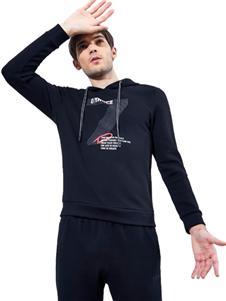 比森战狼新款时尚印花男装