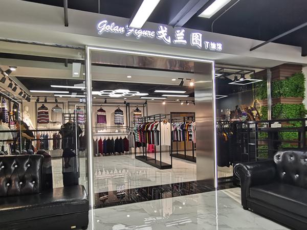 比森战狼时尚品牌馆品牌旗舰店店面