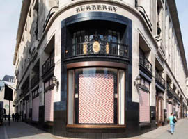 Burberry第一财季增长4% 中国市场销售增长15%
