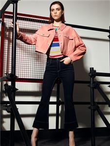 VENSSTNOR(维斯提诺)粉色皮衣