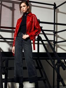 VENSSTNOR(维斯提诺)红色皮衣