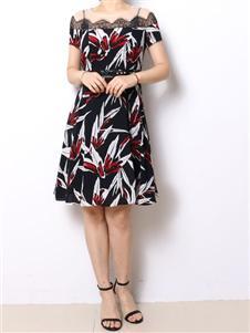 殿秀女装新款气质裙子