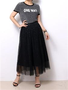 殿秀女装新款时尚半裙