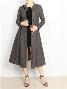 殿秀女装新款极简外套