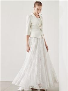 迪图DITTO白色连衣裙