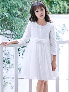 嗒嘀嗒新款收腰连衣裙