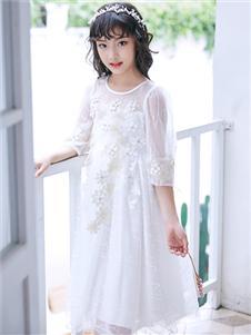 嗒嘀嗒新款网纱裙