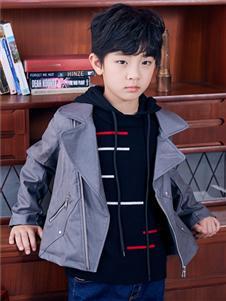 嗒嘀嗒秋冬新款男童外套