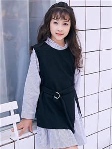 嗒嘀嗒秋冬新款连衣裙
