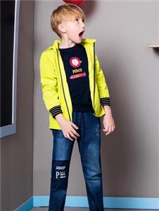 铅笔俱乐部新款黄色外套