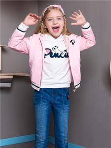 铅笔俱乐部新款粉色外套