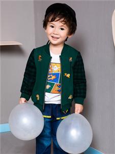 铅笔俱乐部新款小童外套