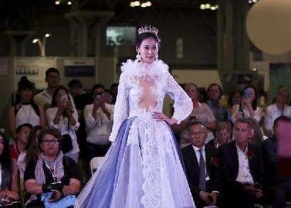 中国纺织品澳门银河bbin游戏平台贸易展览会在纽约开幕