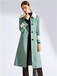 真斯贝尔新款呢子大衣