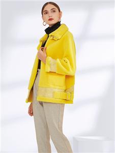 真斯贝尔秋冬新款时尚大衣