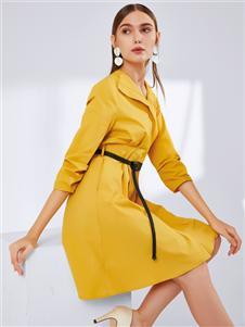 真斯贝尔新款时尚连衣裙