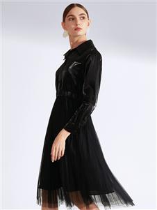 真斯贝尔新款网纱裙