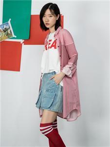 MO·陌女装新款时尚长外套