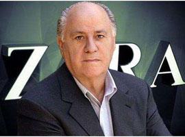 Zara老板地产财富狂增至100亿欧元