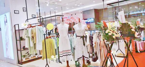 热烈祝贺AILIZHE艾丽哲福建万达广场店开业