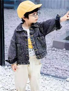 动漫童话秋冬新款牛仔外套