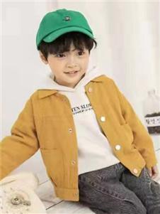动漫童话秋冬新款姜黄色外套