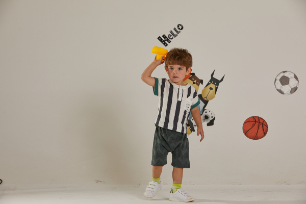 夏季男孩子的穿搭攻略 欧布豆让孩子绽放活力色彩