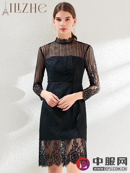 艾丽哲秋冬时尚连衣裙