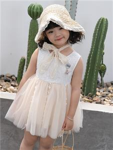 淘淘猫童装新款甜美连衣裙