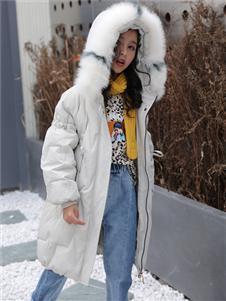 淘淘猫秋冬新款纯色羽绒服