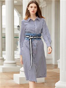 金蝶茜妮新款时尚连衣裙