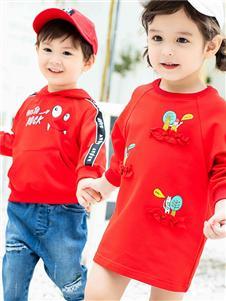 Timi Kids红色外套